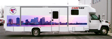 New Orleans Aids Task Force mobile medical coach