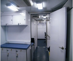 Mobile Medical Clinic Interior