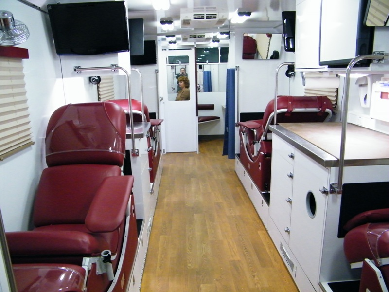 Bloodmobile Existing Vehicle Inventory