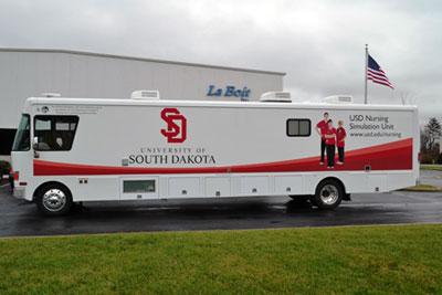 USD Distance Nursing Program Launches Mobile Simulation Unit