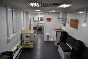 Mobile Nursing Simulation Unit