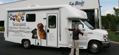 24ft Mobile Veterinary Clinic