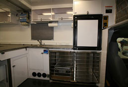26ft Mobile Veterinary Clinic Interior