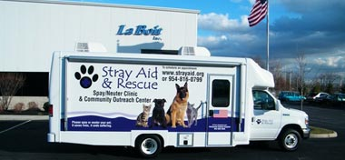 26ft Mobile Spay Neuter Clinic