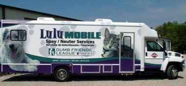 33ft Mobile Spay Neuter Clinic