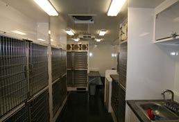 33ft Mobile Spay Neuter Clinic Interior