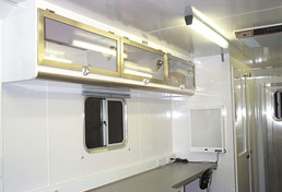 Mobile Medical Clinic Trailer Interior