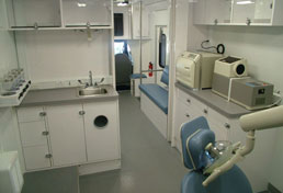 26' Mobile Medical Clinic Interior
