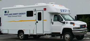 28' Mobile Command Center Exterior