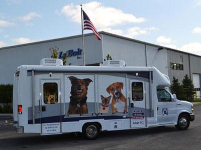 Washington Humane Society Purchases 26ft Adoption Van