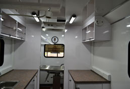 24' Veterinary Sprinter Surgery Suite