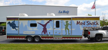 Mobile Medical Clinic Trailer