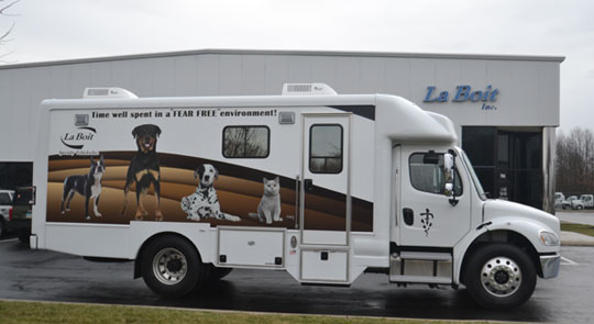 new mobile veterinary clinic for sale