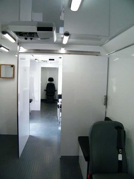 specialty vehicle interior