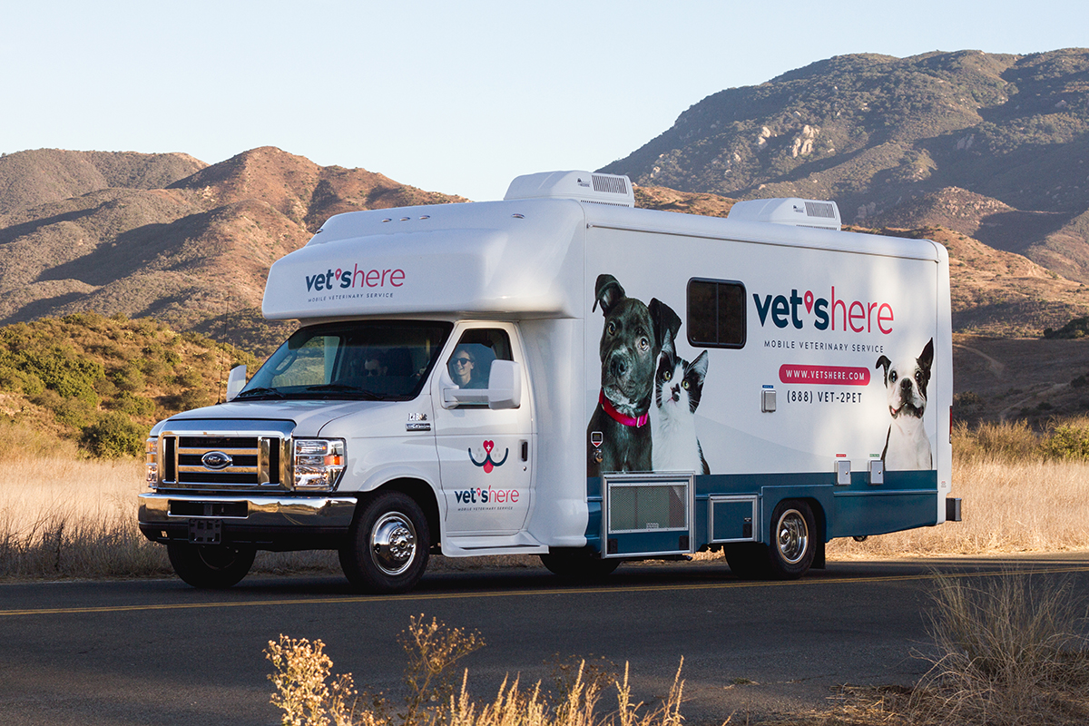 vets here mobile veterinary clinic