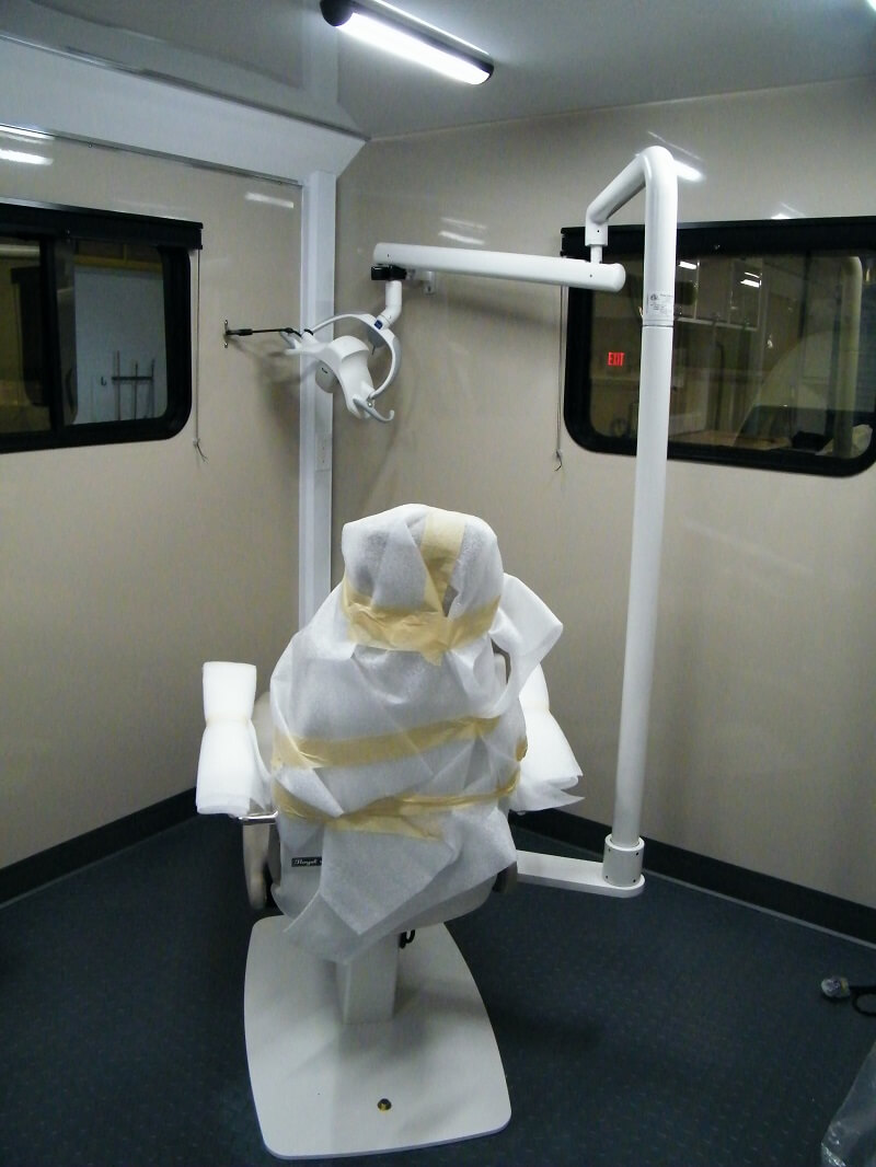 26ft mobile dental exam suite