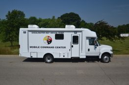 28ft Mobile Command Center Passenger Side View