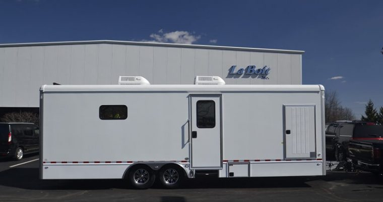 mobile veterinary trailer