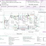 26ft Mobile Medical Clinic w/ one Exam Room Floor plan