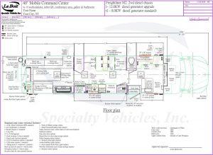 40ft Mobile Command Center Standard Floor Planile Command Center Standard Floor Plan