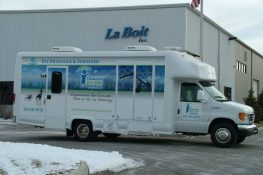 mobile optometry clinic exterior