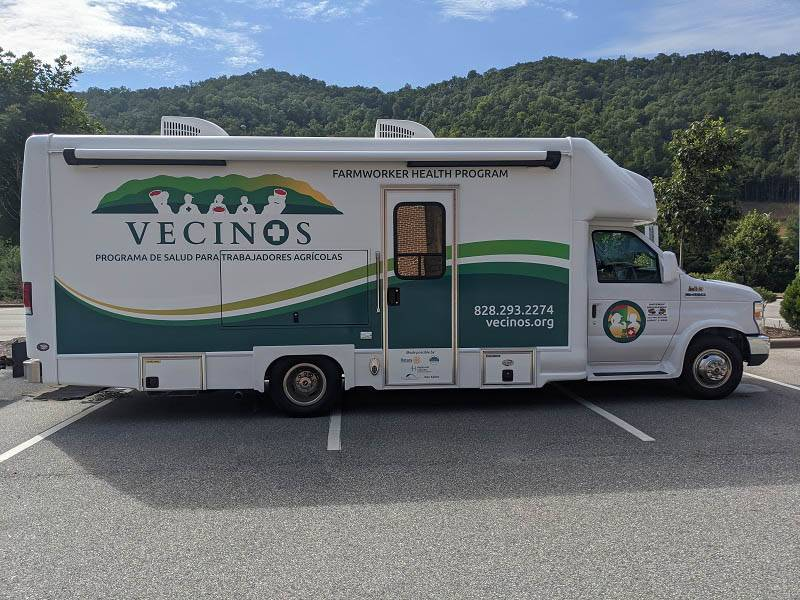 vecinos inc mobile medical clinic
