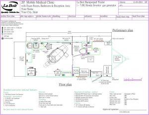 dental trailer floor plan